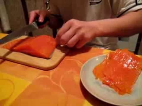 Брюшки лосося с картошкой в духовке - YouTube