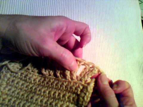 How To Crochet Double Ruffled Edge Youtube