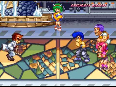 Arcade Longplay [254] Super Dodge Ball - Kunio no Nekketsu Toukyuu Densetsu