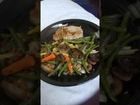 Diabetic-Safe (Low Carb) Pork Chop & Veggie Stir-Fry