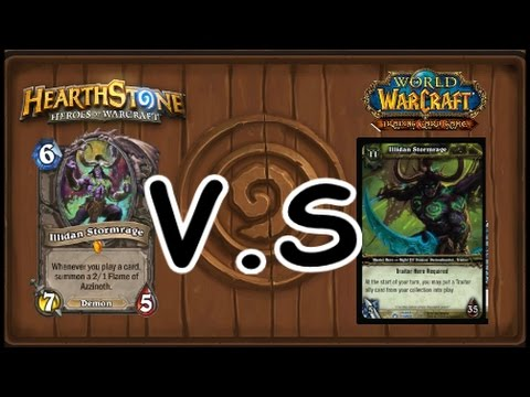 WoW TCG V S HEARTHSTONE CARD REVIEW PART #2