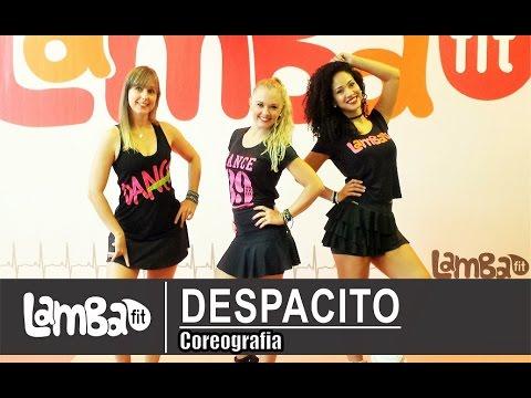 Luis Fonsi ft. Daddy Yankee - Despacito - Coreografia Lambafit - Aula