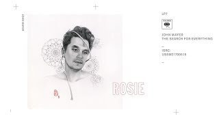 Gambar cover John Mayer - Rosie (Audio)