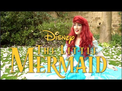 The Little Mermaid in REAL LIFE - Beyond My Wildest Dreams - Kayleigh Ann Strong