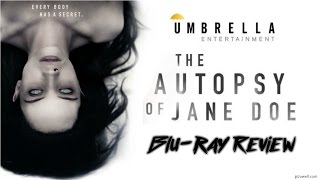 THE AUTOPSY OF JANE DOE (2016) - Blu-ray Review (Umbrella Entertainment)