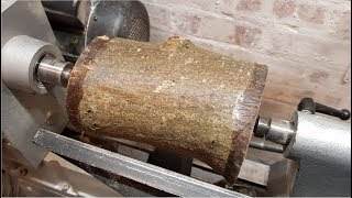 Woodturning - English Laburnum