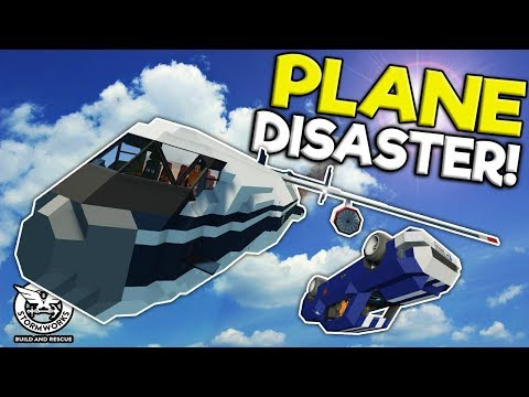 JET PLANE DELIVERY GOES WRONG! - Stormworks: Build and Rescue Gameplay - Plane Crash Survival
