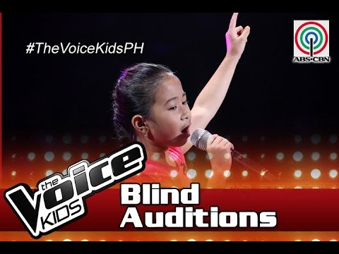 "The Voice Kids Philippines 2016 Blind Auditions: ""Lupa Man Ay Langit Na Rin"" by Saisha"