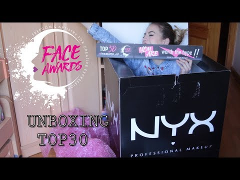 a8aa9d44f04 Unboxing NYX Professional Makeup Spain Face Awards Top 30 | Lnagardel -  YouTube