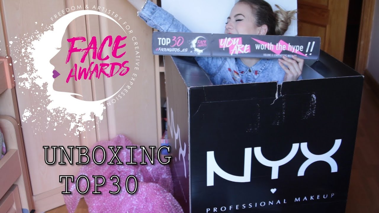 03d7f456653 Unboxing NYX Professional Makeup Spain Face Awards Top 30 | Lnagardel