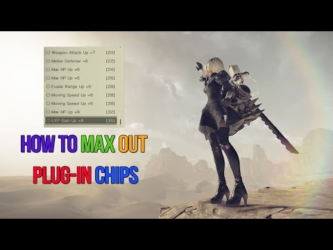 Nier: Automata   How To Max Plug In Chip Levels +8   Lord Of The Valley Quest
