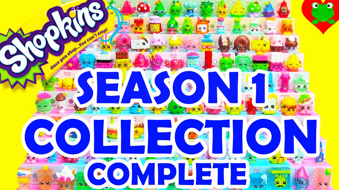 Shopkins Season 1 Collection Complete With Exclusive Shopkins Youtube