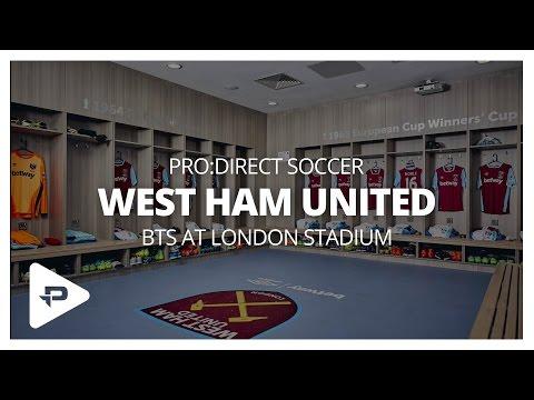 Behind The Scenes at West Ham United's London Stadium