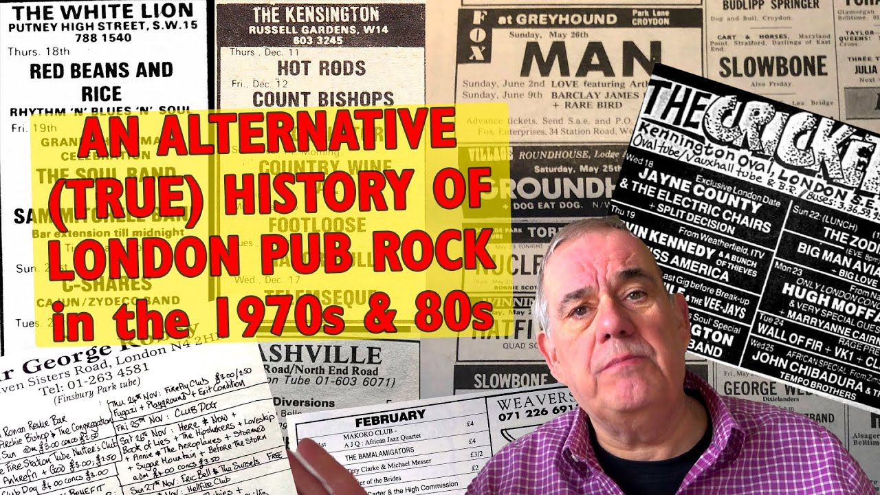 Download Alternative History of Pub Rock London in the 1970s-80s   live music