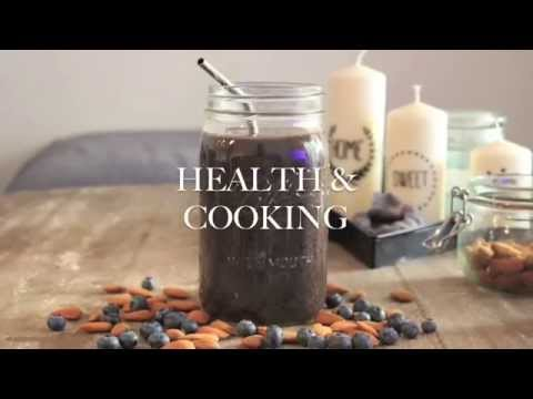 Purple & green smoothie | Alcalin / Antioxydant / Détoxifiant | Health & Cooking