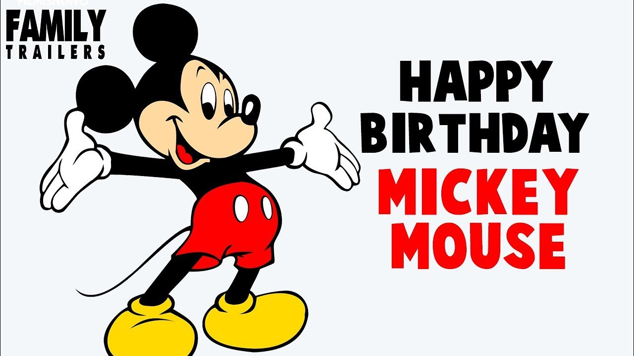 Happy Birthday Mickey Mouse Tribute To The Disney Star Youtube