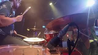 Mansize Roosters - Live At Badlands Bar [Supergrass Covers, Drum Cam 2021-05-29]
