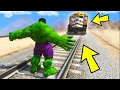 Finally I Stop The Train In Gta 5! video