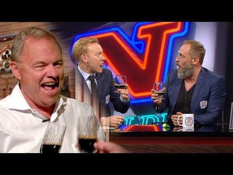 Roland Møller og Anders Breinholt smager stærke øl DK4style