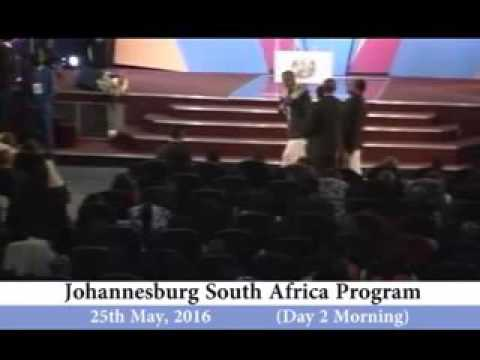 Apostle  ( Prof) Johnson Suleman # Johannesburg South Africa Program 25th of May 2016 Day 2 Morning