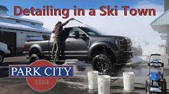 Washing Cars in PARK CITY UT!