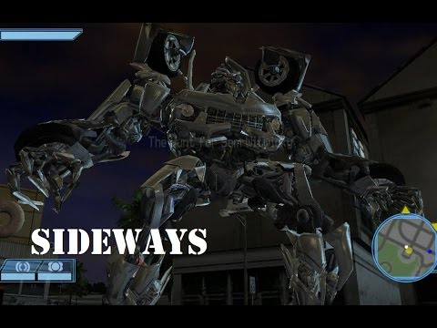Transformers: Revenge of the Fallen(PS2) - Sideways Goes ...