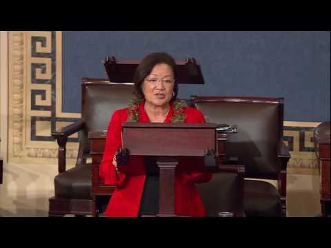 Senator Hirono Joins Senate Democrat Filibuster to Call for Gun Reform