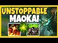 CHALLENGER MAOKAI TOP!  HE HIT CHALLENGER PLAYING MAO TOP?? - League of Legends