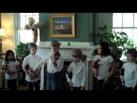 Meadowbrook Montessori School - Oh Susanna on Violin