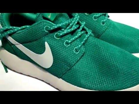 Кроссовки Найк видеообзор Nike Roshe Run Мятные Роше Ран Найк