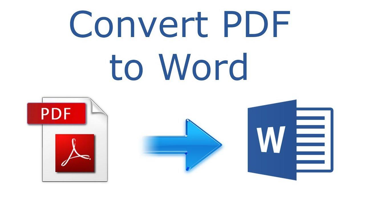 Cara Mengubah File Pdf Ke Word Youtube