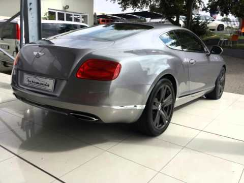 2011 Bentley Continental Gt Auto For Sale On Auto Trader South