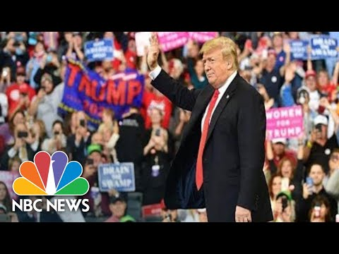 Watch Live: President Donald Trump Holds Campaign Rally In Pennsylvania | NBC News