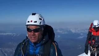 Mont Blanc 4810 - dolazak na vrh drugog naveza, odbrojavanje zadnjih koraka