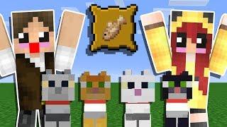 Minecraft Origens #100: MINHA AMIGA ME AJUDOU A COMPLETAR O MINECRAFT!!!