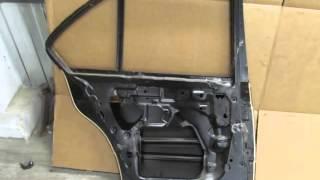 Дверь задняя правая БМВ Е34 1988-1994 41528110031 Правая задняя дверь BMW E34  88-94