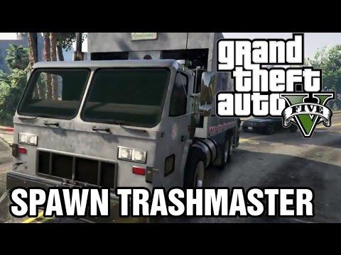 Spawn Trash Truck - GTA 5 Cellphone Cheats (GTA V on PS4)