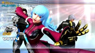 The King of Fighters XIV (PlayStation 4) Story as K