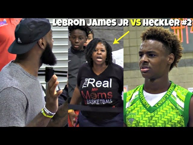 38f001b1806 NBA News  Kentucky Wildcats and Duke Blue Devils have best odds to land  LeBron James Jr. - A Sea Of Blue