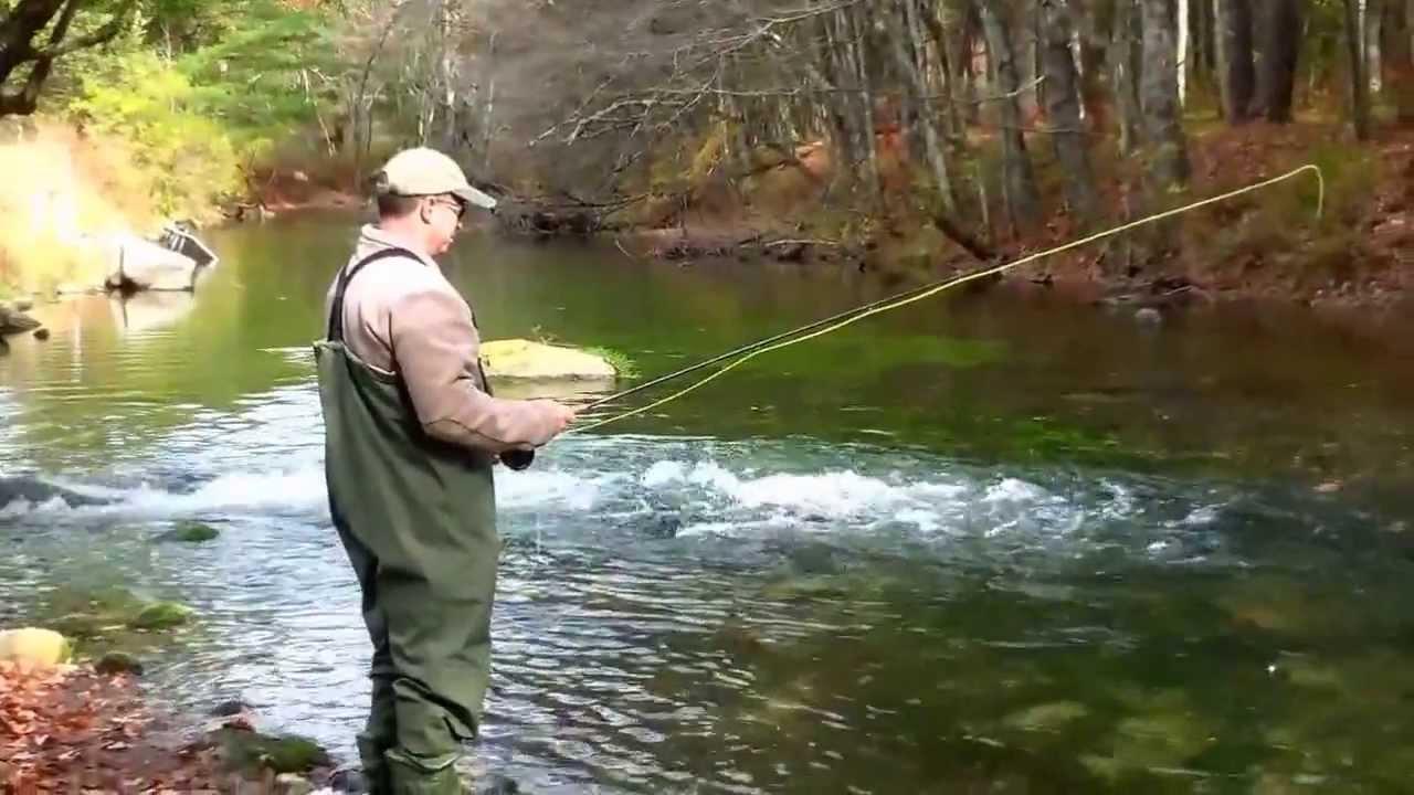 Swift river mass fly fish youtube for Fly fishing massachusetts