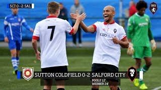 Sutton Coldfield Town 0-2 Salford City - Evo-Stik Northern Premier League 17.10.15