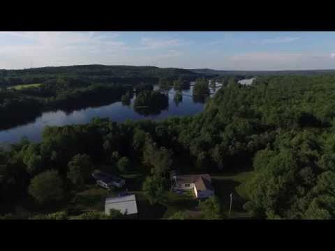 Palermo, Maine - A Bird's Eye View. July 22, 2015.