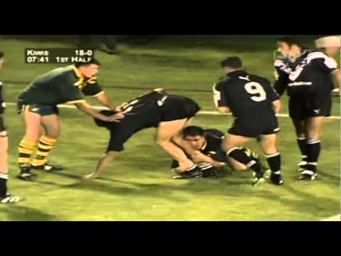 Rugby League New Zealand V Australia 1999 Tri-Nations Opening Game
