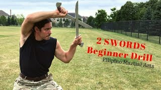 Learn how to fight with 2 swords - Escrima