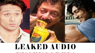 (leaked audio)ram gopal varma says tiger shroff is woman. ( loud audio+subtitles)