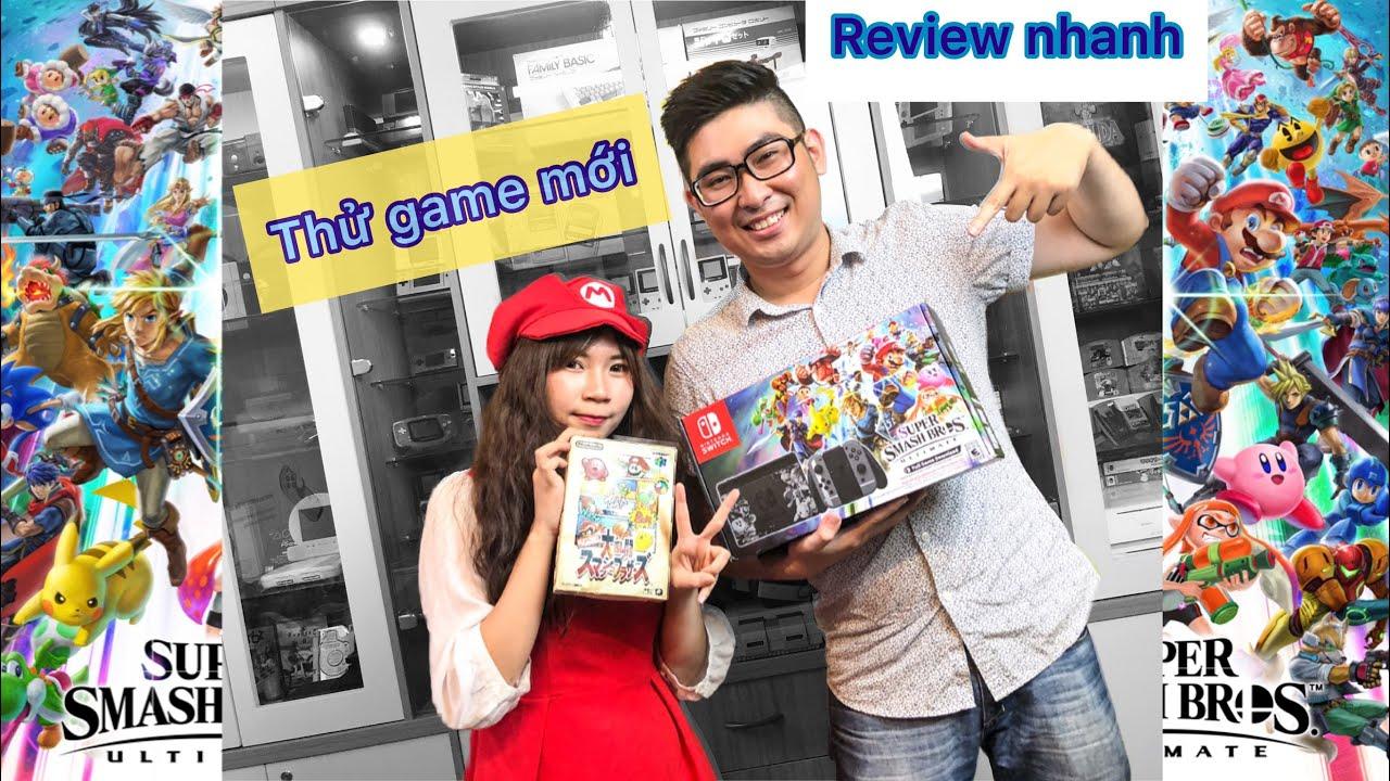Chơi thử Super Smash Bros Ultimate cùng nShop – Trải nghiệm game Nintendo Switch ngày đầu ra mắt!!!