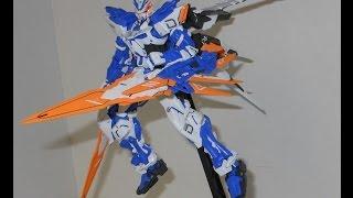 Master Grade Gundam Astray Blue Frame D Review