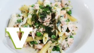 How To Make Salmon With Pea And Dill Pasta: Dinner Delights - S01e1/8