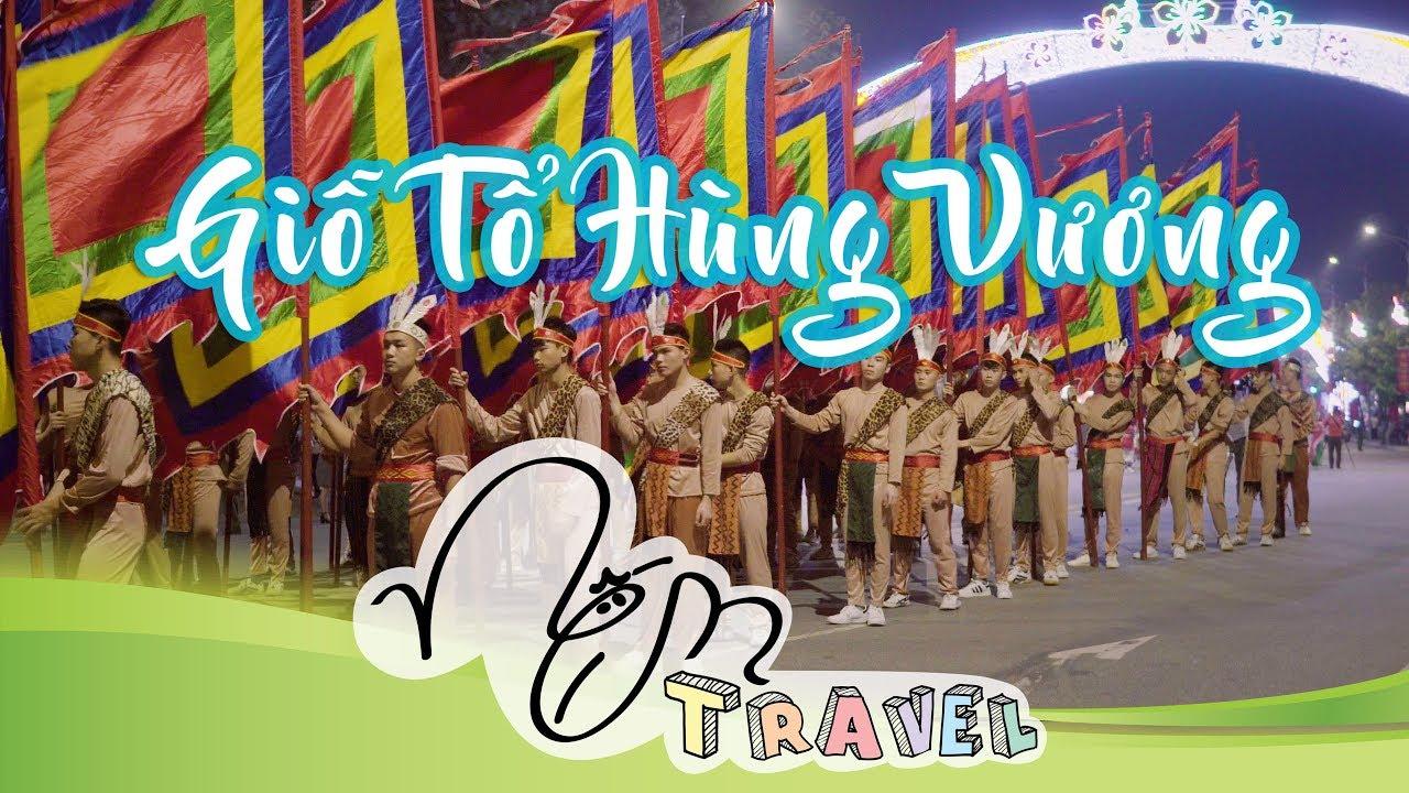 Toàn Cảnh Lễ Hội Đền Hùng - Giỗ Tổ Hùng Vương Siêu Đẹp Tại Việt Trì 4k - Nếm TV