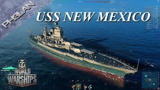 World of Warships - New Mexico